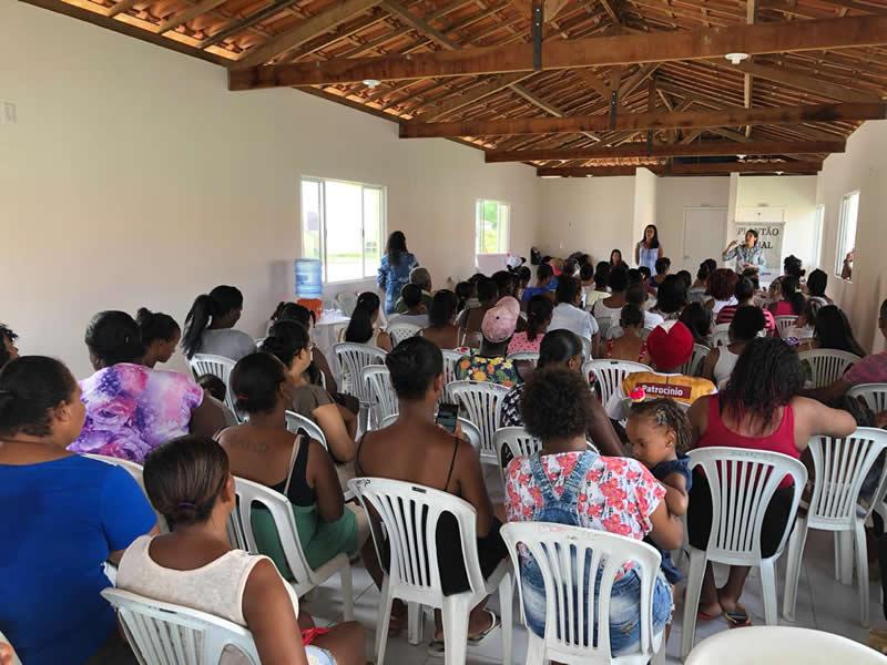 Prefeitura de São Gonçalo dos Campos realiza 1ª reunião com beneficiários do PMCMV após entrega das casas