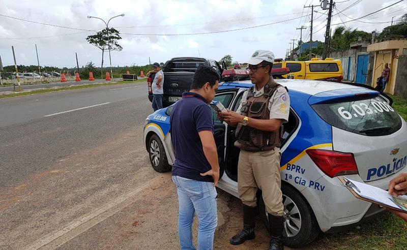 Operação Carnaval em Paz reforça fiscalização nas estradas baianas até quarta