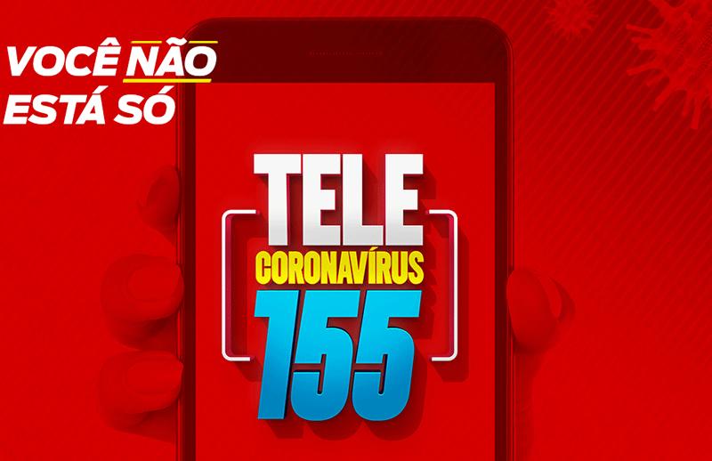 Tele Coronavírus 155 começa a funcionar para atender a população gratuitamente na Bahia