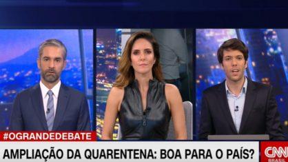 Caio Coppolla é contestado ao vivo por direção da CNN Brasil