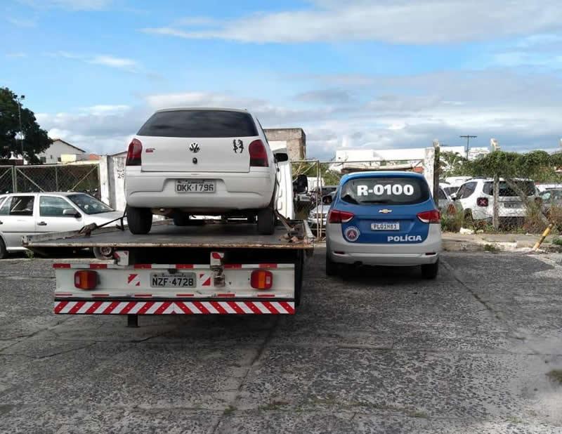 Policiais militares da 66.ª CIPM recuperam veiculo com restrição de furto/roubo