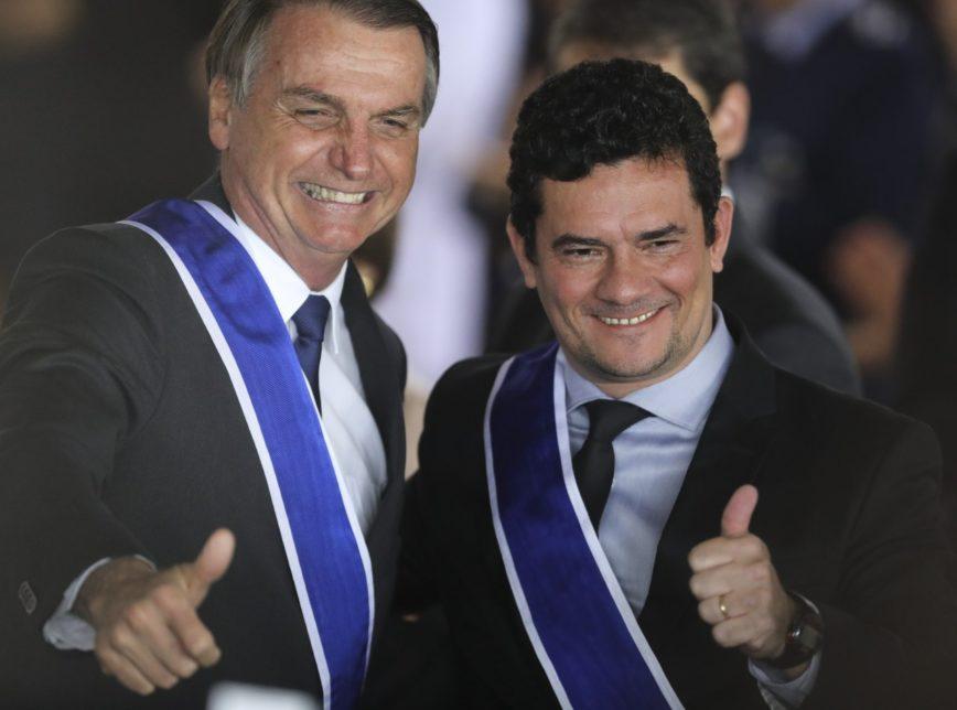 Guerra entre Bolsonaro e Moro chega ao Congresso e ao STF esta semana