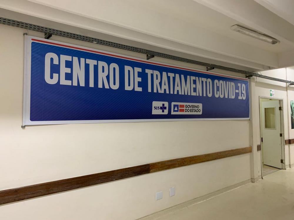 Hospital Clériston Andrade instala nova UTI para pacientes com Coronavírus