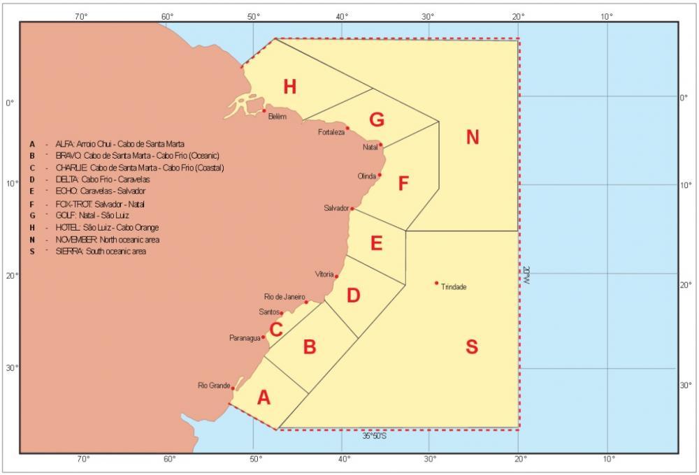 Marinha alerta para chegada de frente fria com ventos de direção Sudeste a Leste com intensidade de até 60km/h