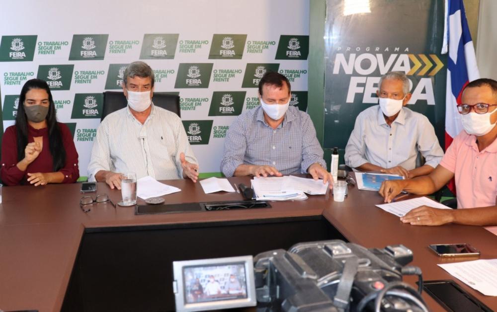 Entidades empresariais apoiam flexibilização escalonada do funcionamento do comércio de Feira de Santana