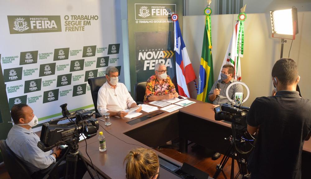 Prefeitura de Feira de Santana pede que estado envie hidroxicloroquina