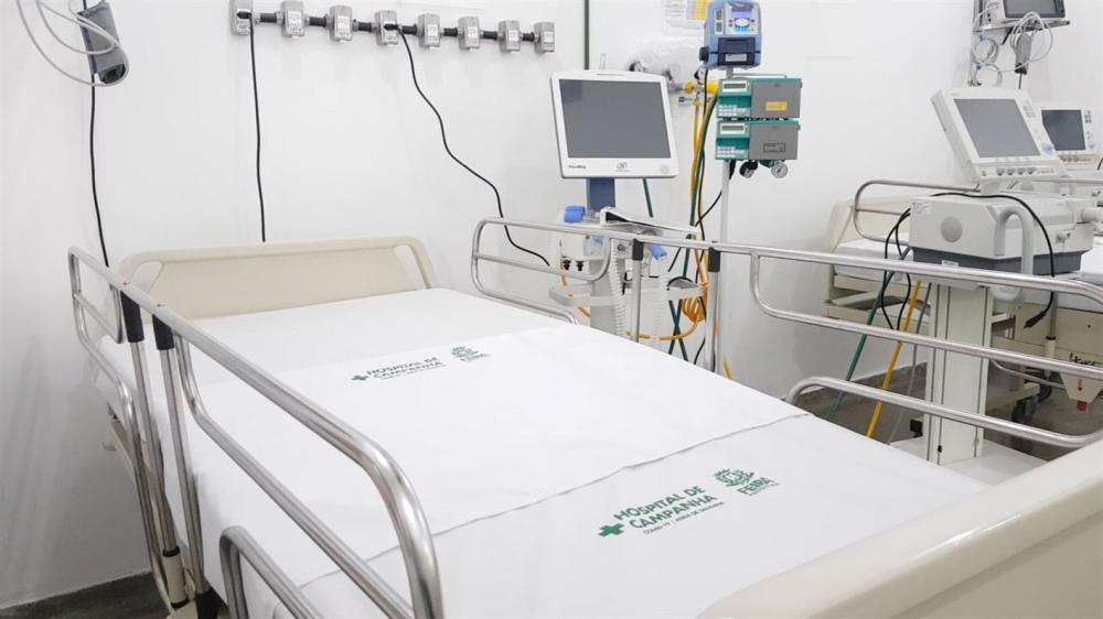 Novos leitos de UTI já estão funcionando em Feira de Santana no Hospital de Campanha