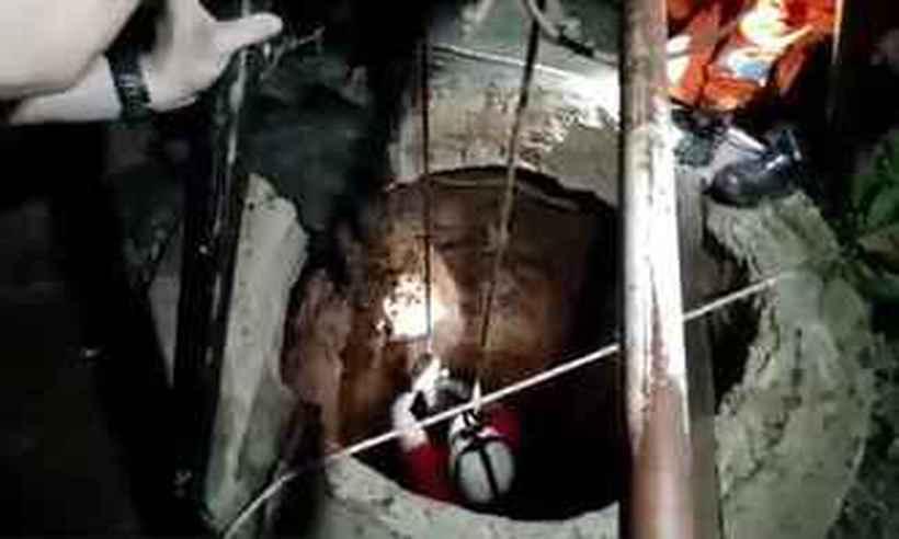Pai e filho jogam mulher em cisterna de 25 metros de profundidade