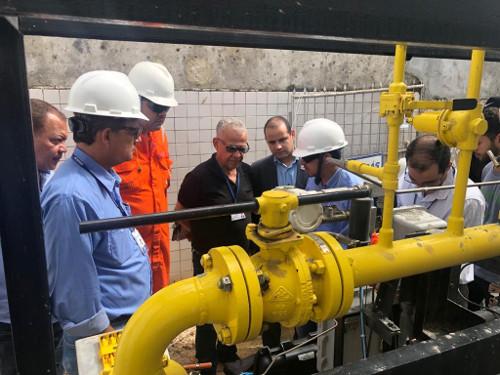 Ibametro e Bahiagás realizam ação conjunta para monitoramento da comercialização de GNV na Bahia