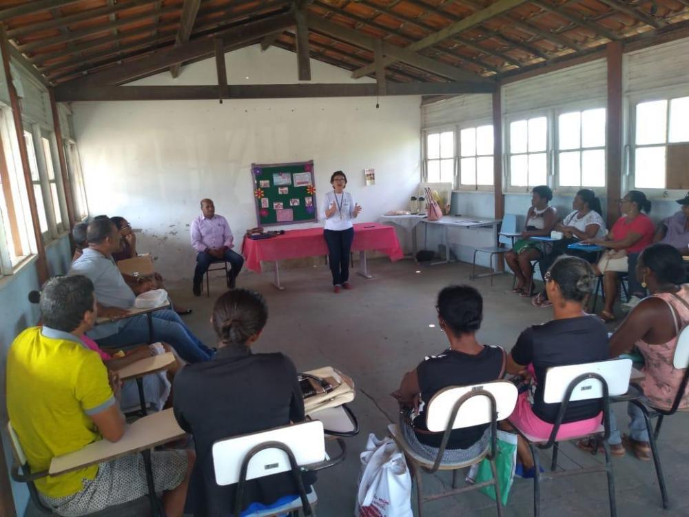Secretaria de Agricultura e Meio Ambiente realiza encontro informativo para comunidades rurais