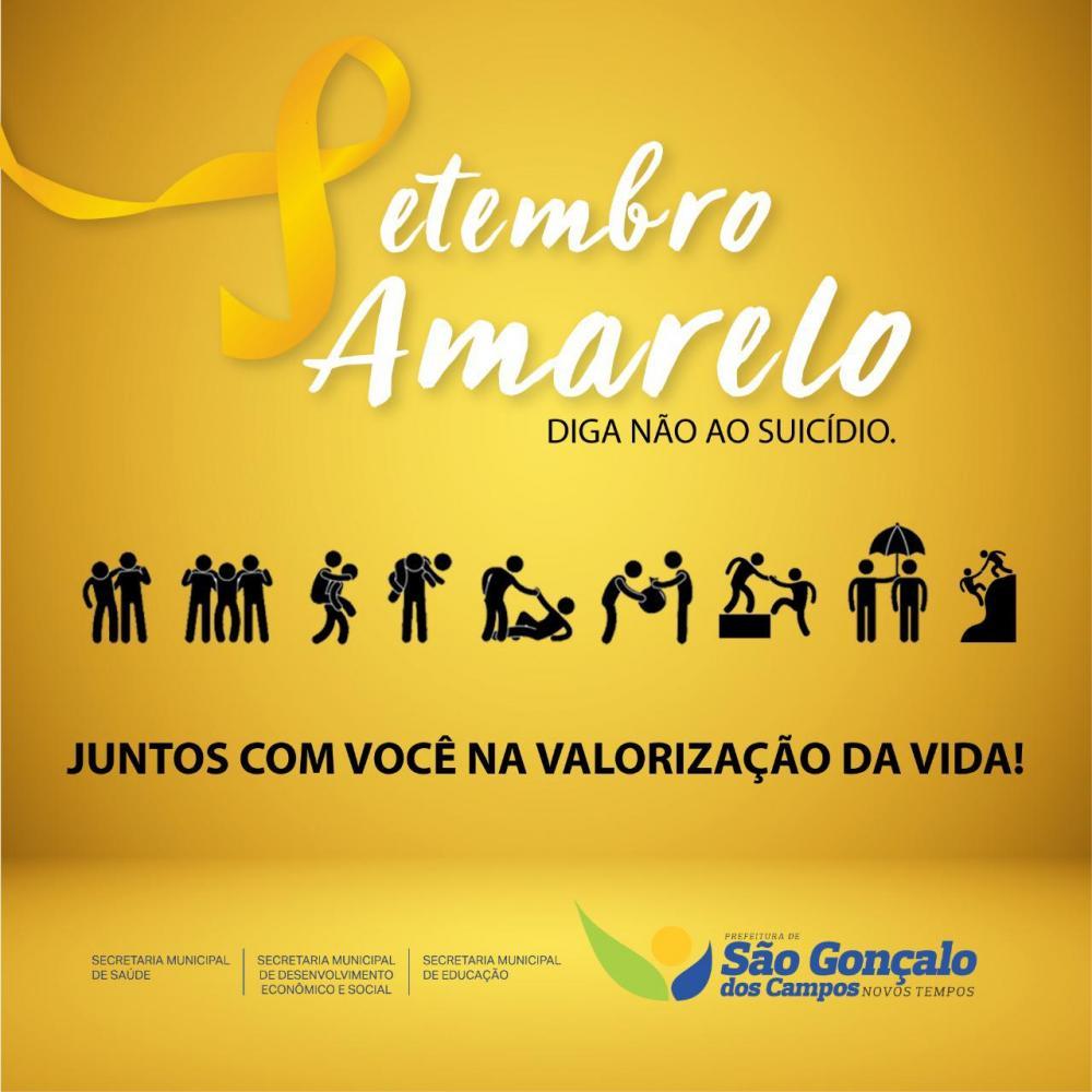 Saúde de São Gonçalo dos Campos realiza várias ações em alusão ao Setembro Amarelo