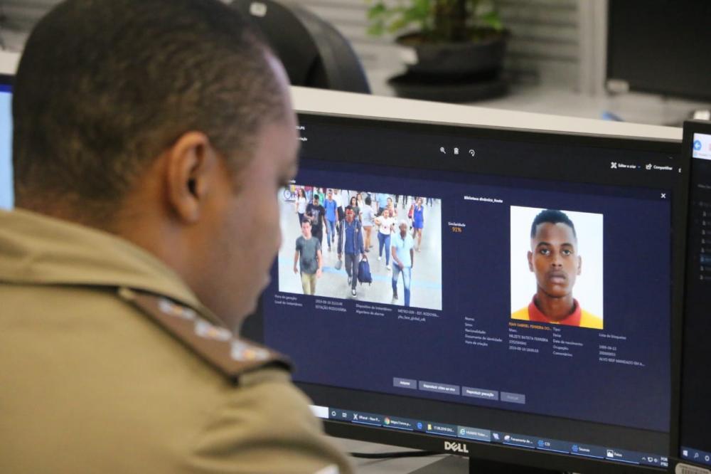 Reconhecimento Facial evita fuga de homicida para São Paulo