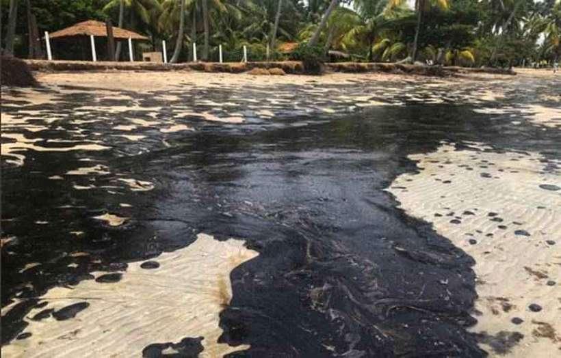 Petrobras diz que óleo em praias saiu de 3 campos de petróleo da Venezuela