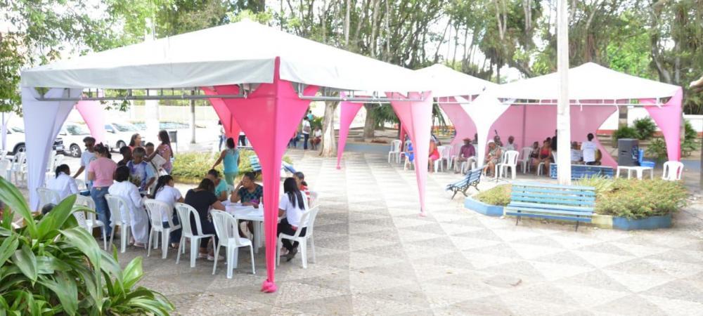 Dia D encerra campanha do Outubro Rosa em São Gonçalo dos Campos