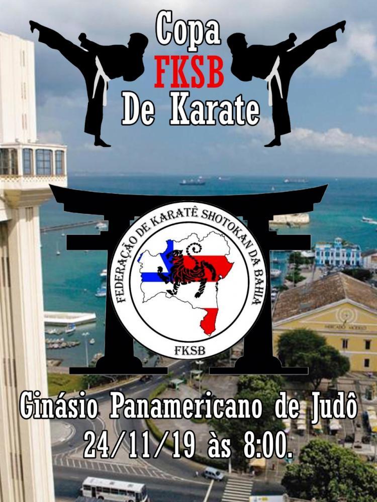 Federação de Karatê Shotokan da Bahia realiza Copa FKSB de Karatê