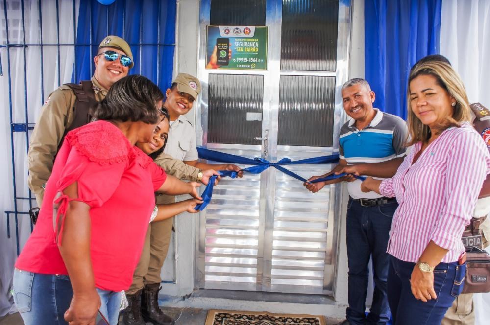 65ª CIPM entrega novo Posto Policial à comunidade do Limoeiro, em Feira de Santana