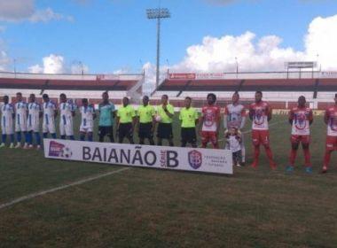 Unirb e Olímpia se enfrentaram no Carneirão | Foto: Reprodução