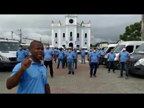 Suspensão do transporte: ASCONF também protesta em Conceição da Feira